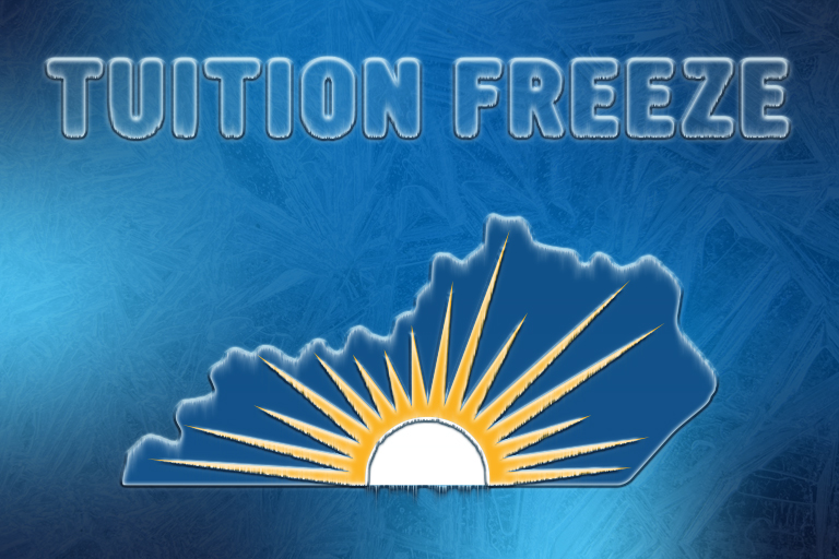 Tuition Freeze with state icon