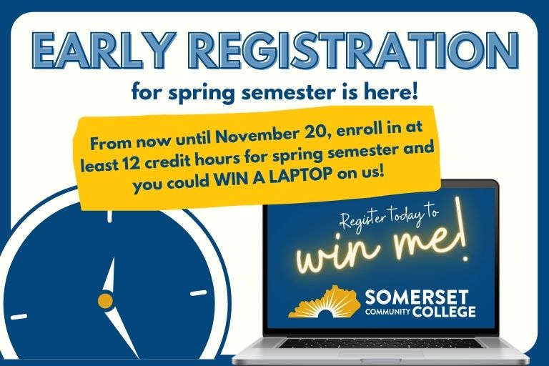 early registration for spring semester is here