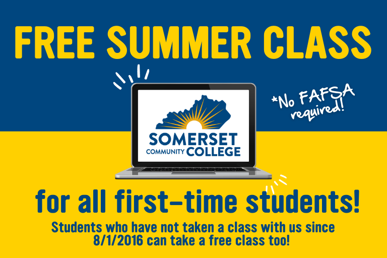 free summer class for first time students